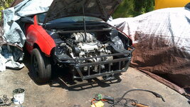 Geo Metro v6 engine swap picture Spinalsign5357.JPG