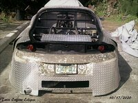 Twin Engine 1995 Mitsubishi Eclipse Hatch Removed . No Trunk Pic 2 . Youtube Spinalsign5357.jpg