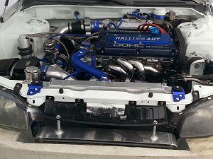 Spyder 2 4l 4g64 DOHC 4g63 Stroker Turbo Swap Fully Built